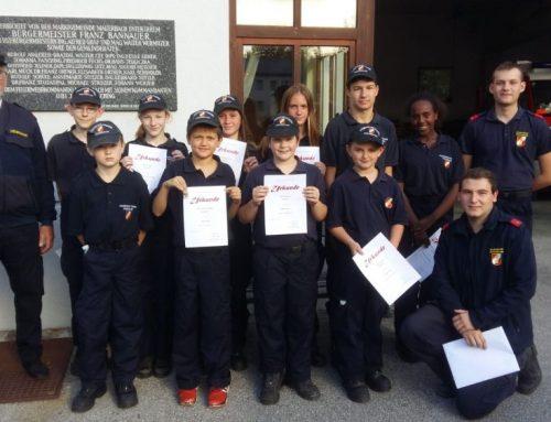 Erfolg für unsere Feuerwehrjugend!
