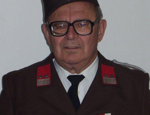 Verabschiedung von Ehren-Oberbrandmeister Karl BALASCH